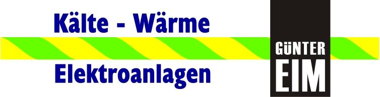 GÜNTER EIM GmbH Kälte-Wärme-Elektroanlagen